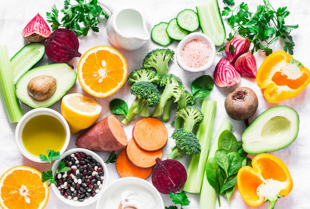 Nahrungsmitteln gehen die Vitamine aus